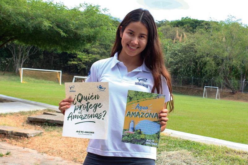Campaña Agua para el Amazonas, una manera de ayudar a recuperar los bosques.