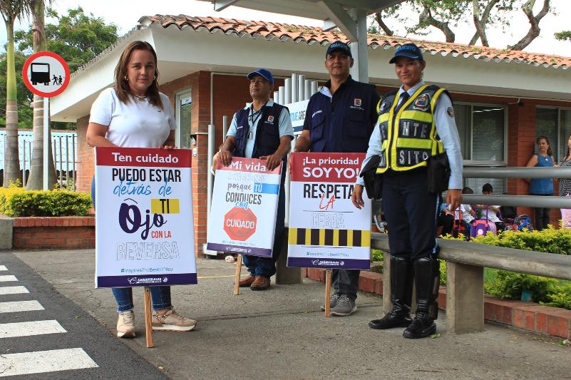Seguridad vial en Cañaverales