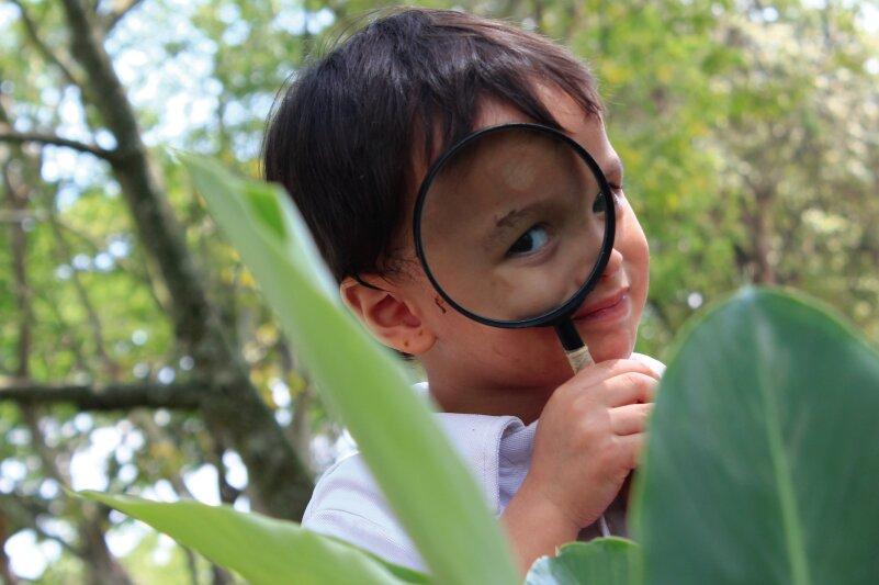 Nursery explora el río